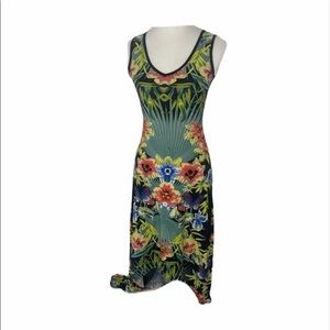 **Women's size small snap floral dress